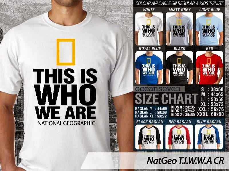 Kaos National Geographic NatGeo T.I.W.W distro ocean seven
