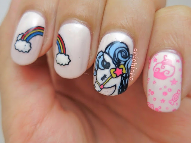 Magical Pony Stamping Plates Nail Art - Born Pretty Store Review