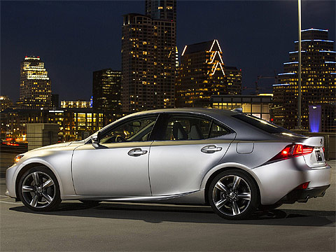 Motor Trend: Lexus IS US-Version 2014