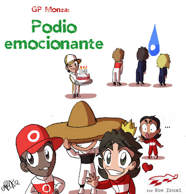 анимешная картинка Noe Izumi по Гран-при Италии 2012