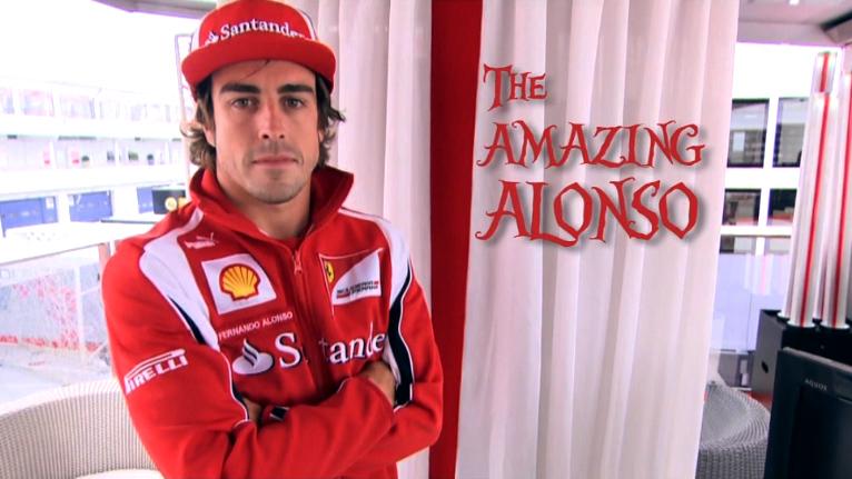 The Amazing Alonso