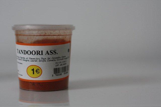 Mezcla de especias Tandoori Assortiment