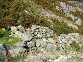 Sheepfold on path to Langdale