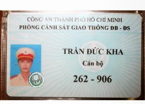 Thẻ xanh CSGT