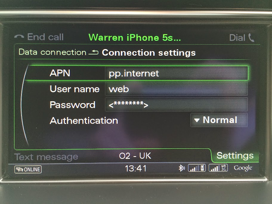 Help With SIM Card And Audi Connect AudiSportnet - Audi connection