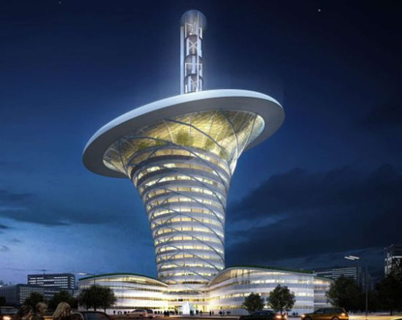 Wuhan Energy Centre by Grontmij and Soeters Van