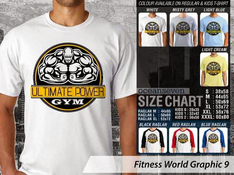 KAOS Ultimate Power Gym Fitness & Gym Series distro ocean seven