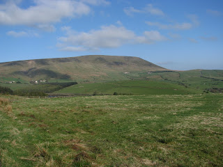 Pendle from near Newchurch in Pendle