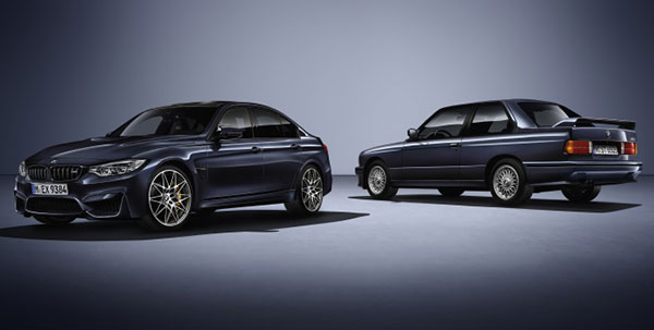 2016 BMW Celebrates 30 Years with a Special M3