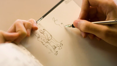 Ilustrasi Menggambar