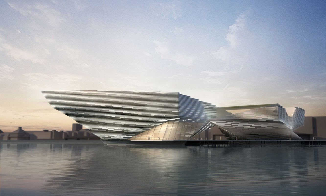 Dundee, Dundee City, Regno Unito: V&A Museum by Kengo Kuma Read to Start