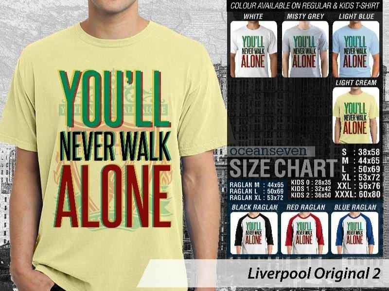 KAOS Liverpool 30 Logo Klub Bola distro ocean seven