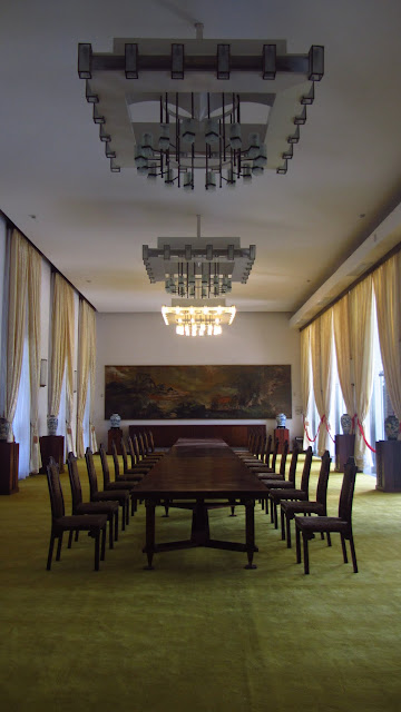 The banquet room.