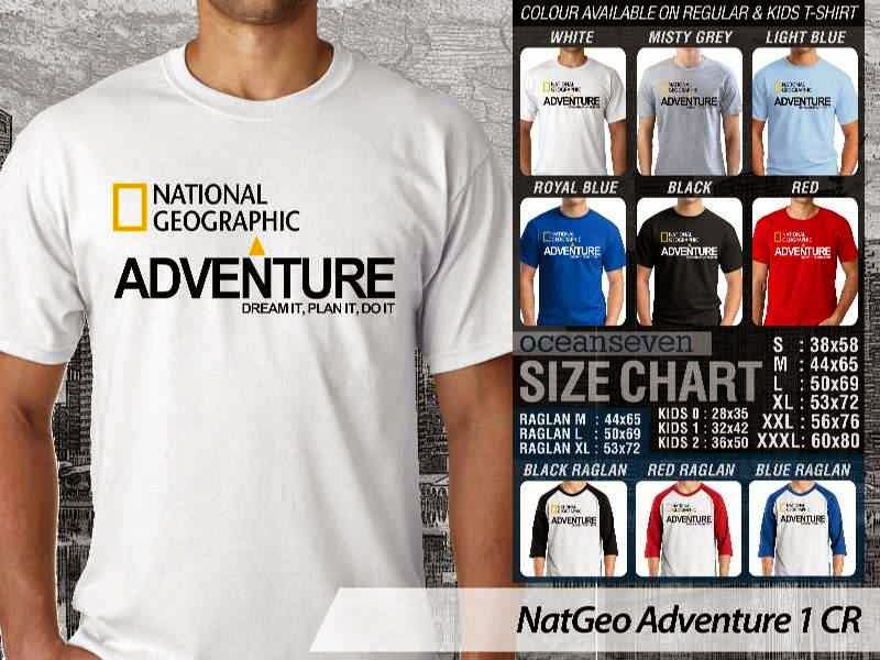 Kaos National Geographic NatGeo Adventure 1 distro ocean seven
