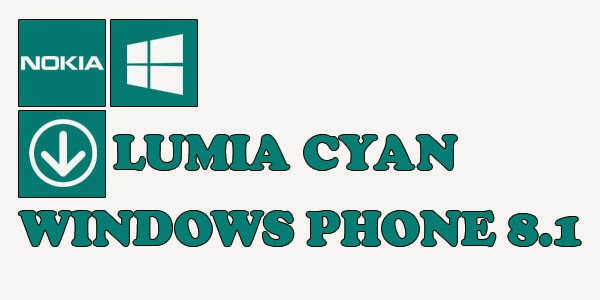 Lumia Cyan with Windows Phone 8.1