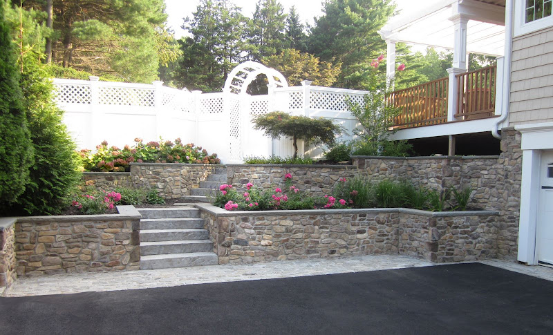 Landscape Design Custom Masonry | Retaining Walls
