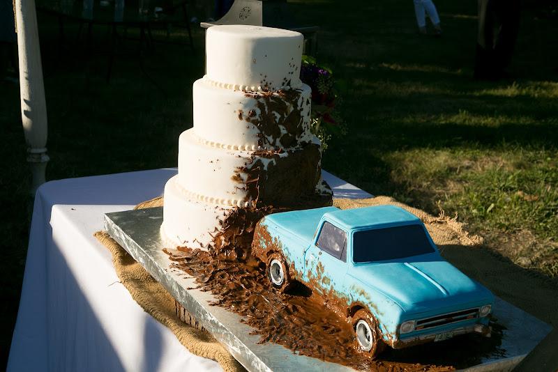 Truck Wedding Cake Topper