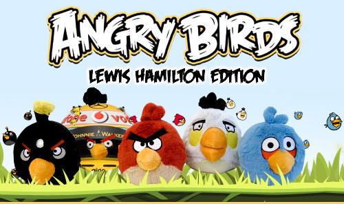 Angry Birds Lewis Hamilton Edition