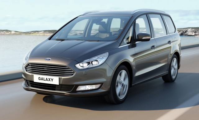 2017 Ford Galaxy Minivan Release Car Review Specs