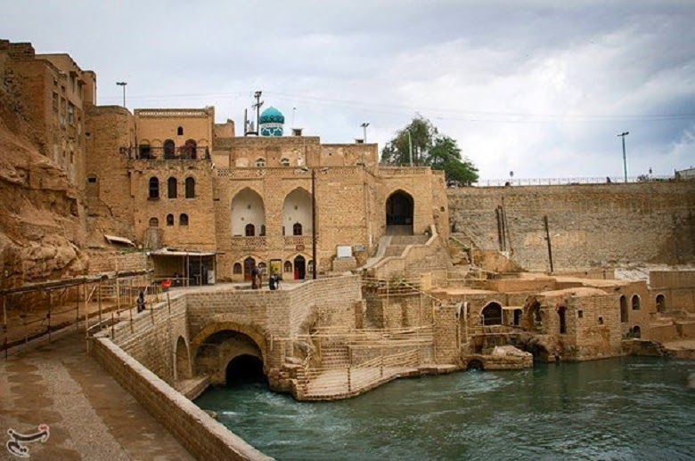 Iran's Shushtar Historical Hydraulic System in photos