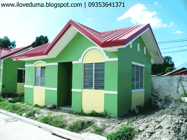 Dumaguete house and lot picture - Del Pilar