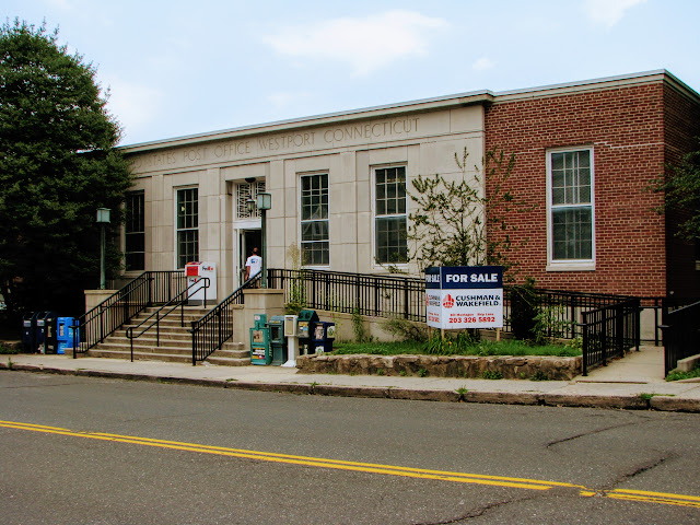 Historic Westport, CT post office