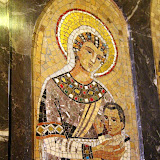 Mosiac At The Basilica - Montserrat, Spain