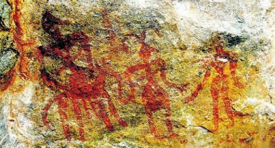 India: Prehistoric rock art sites under threat in India