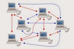Ilustrasi BitTorrent File Sharing