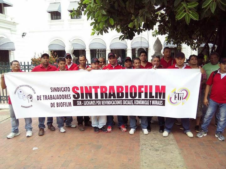 Sintrabiofilm está dispuesta a llevar su caso al congreso norteamericano