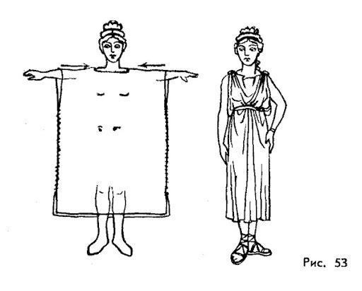Греческий костюм своими руками