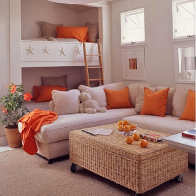pillows, fall pillows, orange pillows