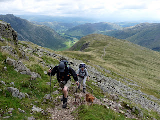 Still we ascend - near Earing Crag