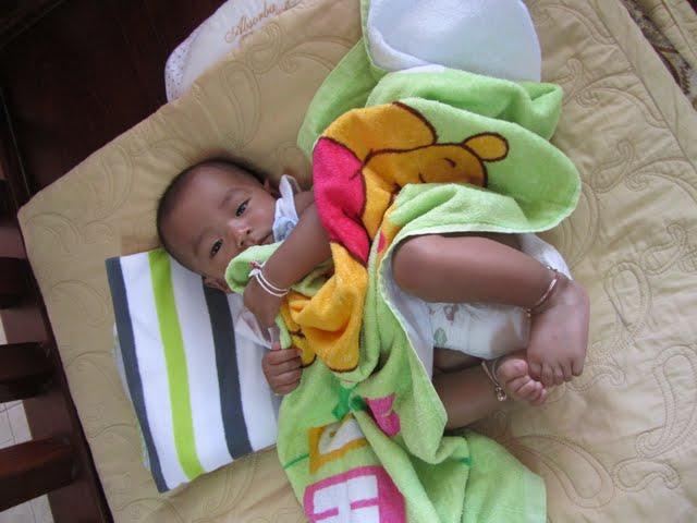 Koh Tao baby