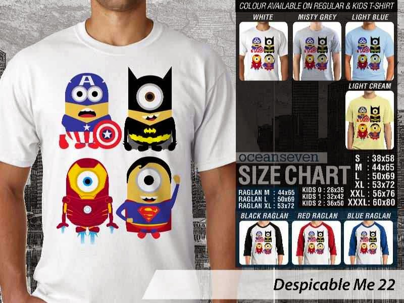KAOS Despicable me 22 Movie Animation distro ocean seven