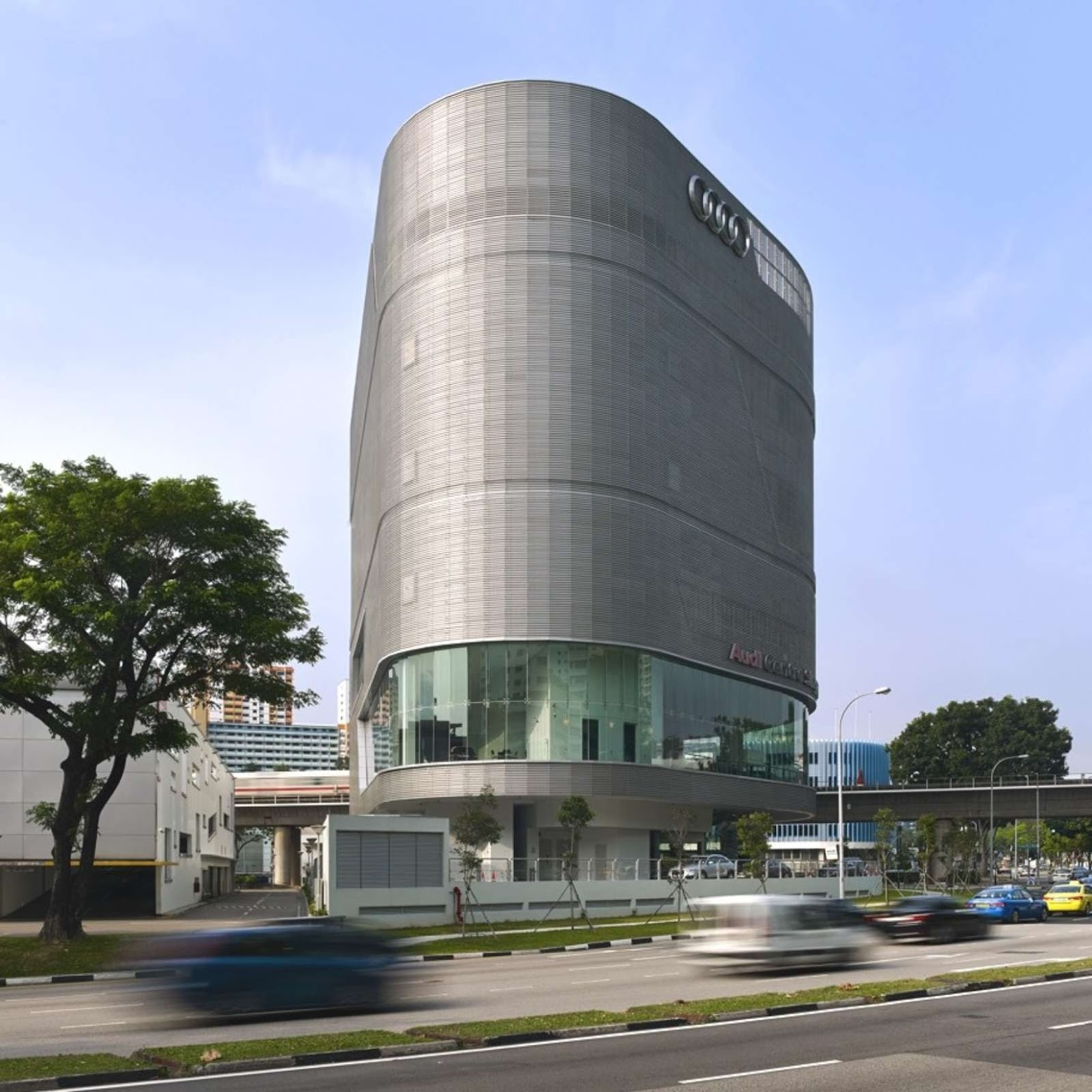 Alexandra Road, Singapore: [AUDI CENTRE SINGAPORE BY ONG&ONG]