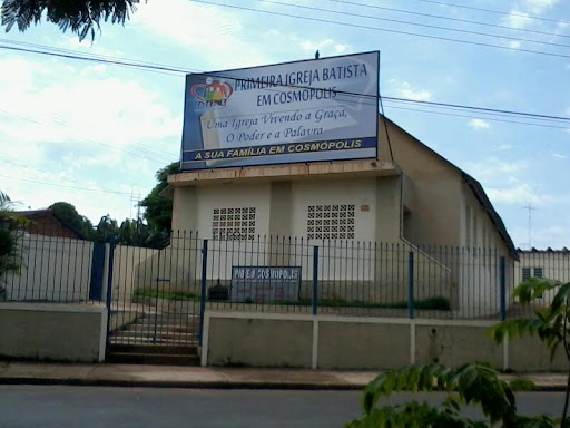 Primeira Igreja Batista Cosmopolis, Rua Vitório Natali de Faveri, 50 - Vila Sao Pedro, Cosmópolis - SP, 13150-000, Brasil, Local_de_Culto, estado São Paulo