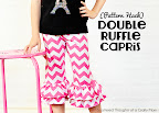 Double Ruffle Knit Pants