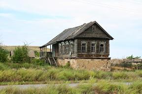 Polunapušteno selu na Volgi