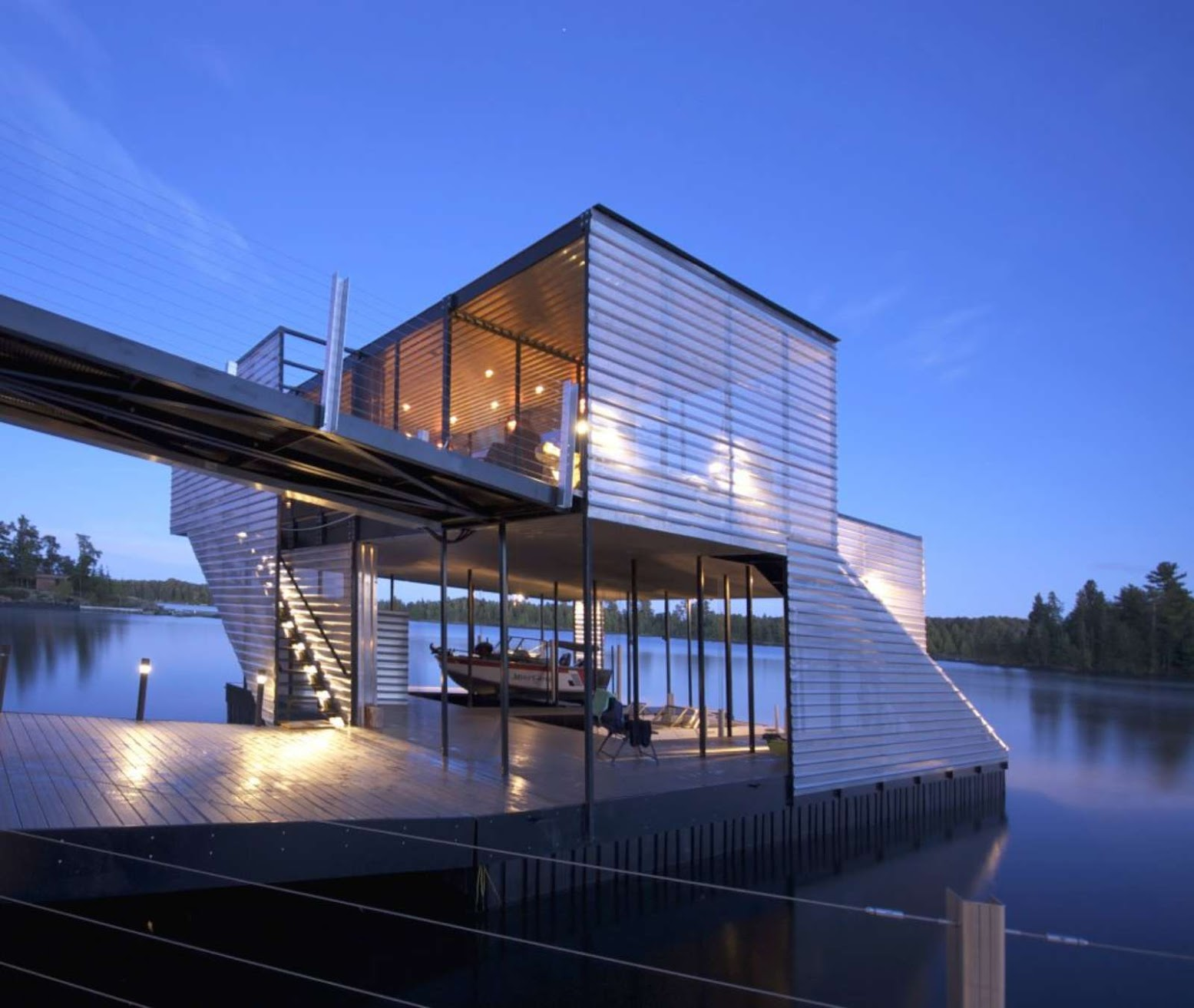 Storm Bay, Kenora, Unorganized, Ontario P0V, Canada: [GUERTIN BOATPORT BY 5468796 ARCHITECTURE]