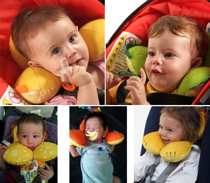 headrest children travel neck security u memory safety seat pillow cushion new