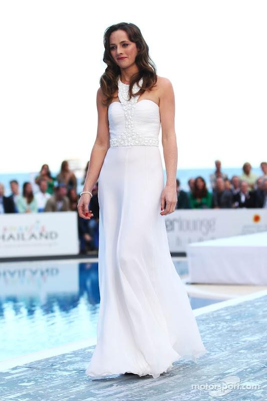 Лаура Джордан на Amber Lounge Fashion Show на Гран-при Монако 2013
