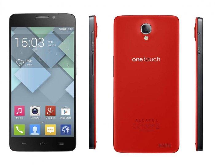 Alcatel OneTouch Idol X - Spesifkasi Lengkap dan Harga