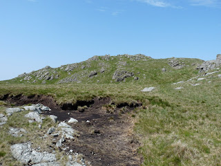 A dry tarn near Buckbarrow