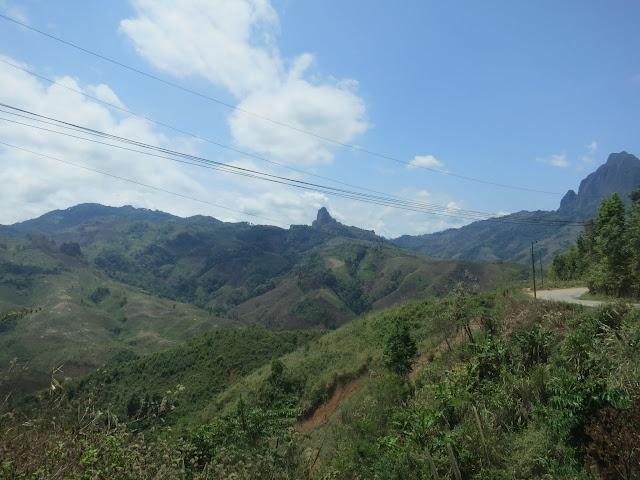 The beautiful Laotian countryside.