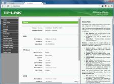 Halaman administrasi wireless tp-link