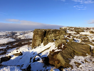 Curbar Edge Comes Into View