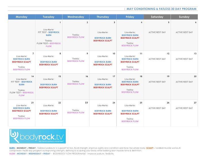 30 дневная программа похудения