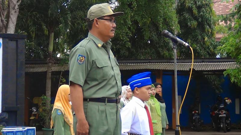 Upacara Bendera dan Pembinaan Dinas Pendidikan OKI
