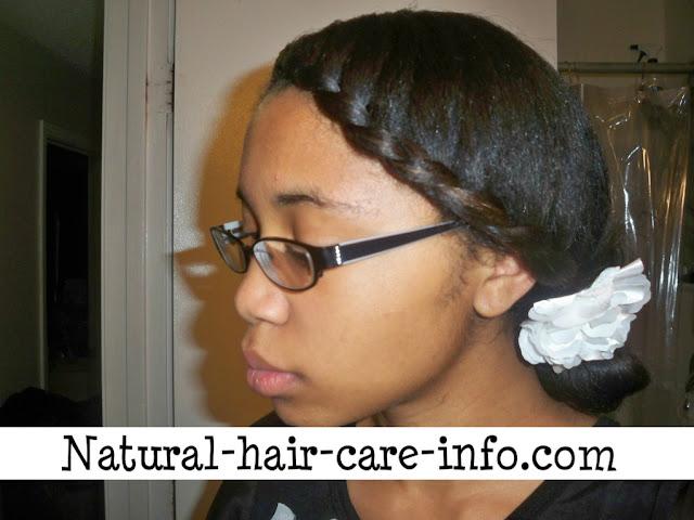 medium length curly hair